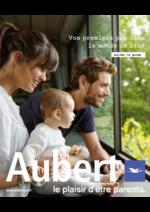 Catalogues et collections Aubert : Le plaisir d'être parent 2016