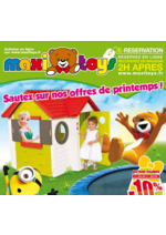 Prospectus Maxi Toys : Sautez sur nos offres de printemps