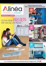 Prospectus Alinéa : Les plus beaux projets sont ceux que l'on réalise !