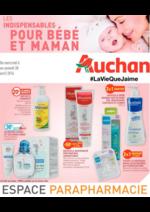 Prospectus Auchan : Les indispensables pour bébé et maman