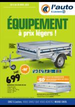 Prospectus L'auto E.Leclerc : Équipement à prix légers !