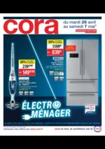 Prospectus Cora : Électroménager