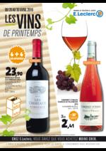 Prospectus E.Leclerc : Les vins de printemps