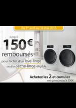 Bons Plans MDA : Whirlpool jusqu'à 150€ remboursés