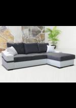 Promos et remises Maga Meubles : Le canapé d'angle réversible LAGOS à 509,50€ au lieu de 609,50€