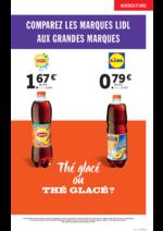 Prospectus Lidl : Comparez les marques Lidl aux grandes marques