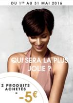 Prospectus Vog coiffure : Qui sera la plus jolie ? 2 produits achetés = -5€