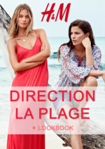 Catalogues et collections H&M : Le lookbook femme Direction la plage