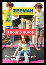 Promos et remises  : Tee-shirts enfant : 3 pour 5€