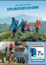 Prospectus DECATHLON : Explorateurs en herbe