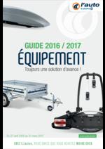 Prospectus L'auto E.Leclerc : Guide 2016-2017 Équipement