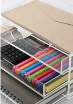 Promos et remises Muji : -20% sur les boîtes acrylique 3 & 5 tiroirs