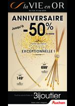 Prospectus Auchan : Anniversaire jusqu'à -50%