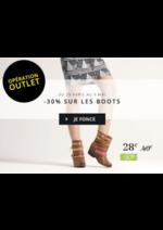 Promos et remises Eram : Opération OUTLET -30% sur les boots