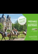 Promos et remises  : Préparez votre séjour au domaine Bois-Francs