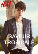 Catalogues et collections H&M : Homme: Saveur Tropicale
