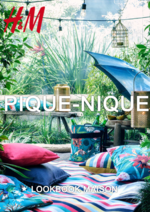 Catalogues et collections H&M : Lookbook maison pique-nique