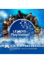 Promos et remises Micromania :  Le mois PlayStation