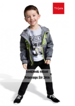 Catalogues et collections E.Leclerc : Lookbook enfant printemps été 2016