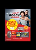 Prospectus Roady : Évadez-vous !