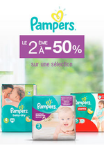 Bons Plans Monoprix : Pampers : le 2ème à -50%
