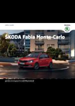 Catalogues et collections Skoda : La Skoda Fabia Monte-Carlo