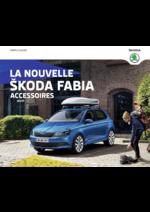 Catalogues et collections Skoda : Les accessoires de la nouvelle Skoda Fabia
