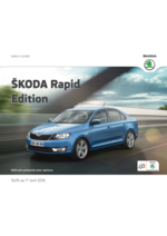 Catalogues et collections Skoda : Skoda Rapid Berline edition