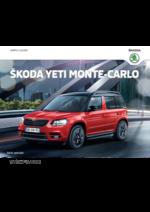 Catalogues et collections Skoda : Skoda Yeti Monte-Carlo
