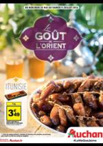 Prospectus Auchan : Le goût de l'Orient