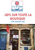 Promos et remises  : 30% de réduction sur toute la boutique !