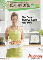 Prospectus Auchan : Le printemps du bio