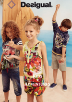 Catalogues et collections Desigual : Lookbook Kids adventures