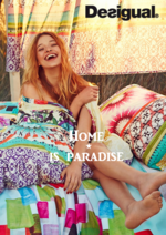 Catalogues et collections Desigual : Lookbook Home is paradise