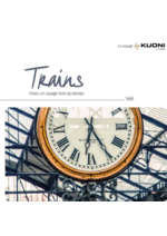 Catalogues et collections  : Circuits en Trains 2017