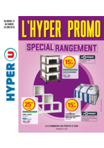Prospectus Hyper U : Spécial rangement