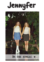 Catalogues et collections Jennyfer : Lookbook In the jungle