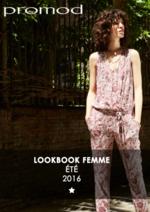 Catalogues et collections Promod : Lookbook Eté 2016