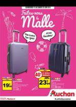 Prospectus Auchan : Faites vous la malle