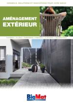 Catalogues et collections BigMat : Aménagement extérieur