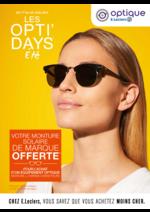 Prospectus E.Leclerc : Les opti'days été