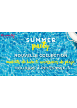 Catalogues et collections Eurodif : Lookbook Summer party : maillots de bain et accessoires de plage