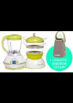 Promos et remises Autour de bébé : Pomo NutriBaby + Chauffe biberon