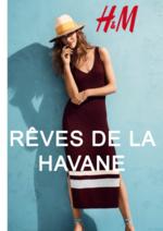 Catalogues et collections H&M : Lookbook femme Rêves de la Havane