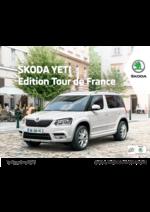 Catalogues et collections Skoda : Les tarifs de la Skoda Yeti Édition tour de France