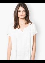 Promos et remises Gemo : La blouse brodée à 13,99€ seulement