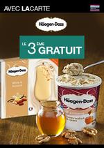 Bons Plans Monoprix : Häagen-Dazs le 3ème gratuit