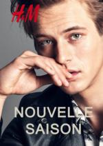 Catalogues et collections H&M : Lookbook homme Nouvelle saison