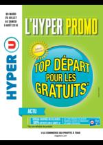 Prospectus Hyper U : Top départ pour les gratuits