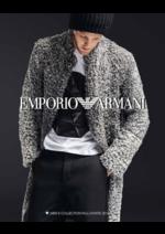 Promos et remises  : Catalogue homme Emporio Armani automne hiver 2016